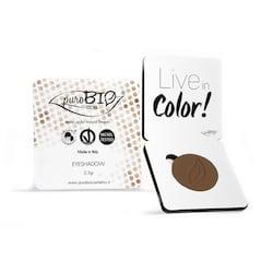 puroBIO cosmetics Minerální oční stíny 14 Cold Brown 2,5 g
