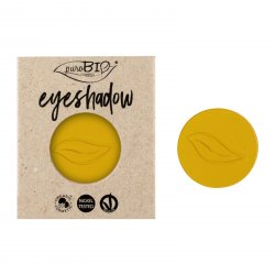 puroBIO cosmetics Minerální oční stíny 18 Yellow Indian 2,5 g náplň