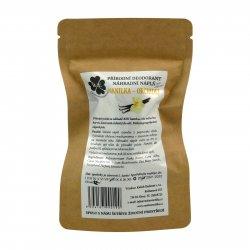 RaE Přírodní deodorant s vůní vanilky a orchideje 22 g náhradní náplň