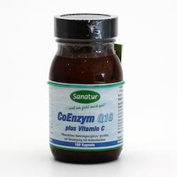 Sanatur Koenzym Q10, kapsle 100 kapslí, 34,5 g