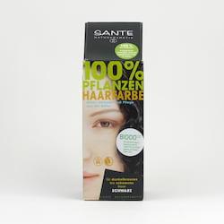 SANTE Rostlinná barva na vlasy černá 100 g