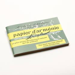 Savon Du Midi Deodorační vonné papírky Papier d'Arménie, Triple 15 ks