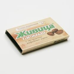 TML Sibiřská žvýkací pryskyřice s kávou 5 tablet, 4 g