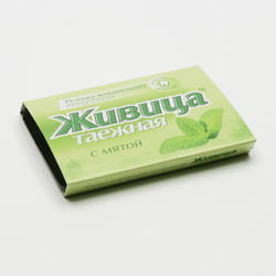 TML Sibiřská žvýkací pryskyřice s mátou 5 tablet, 4 g