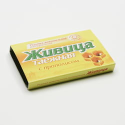 TML Sibiřská žvýkací pryskyřice s propolisem 5 tablet, 4 g