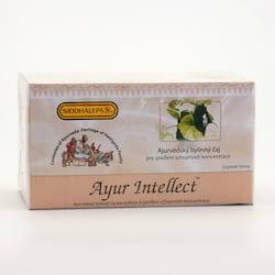 Siddhalepa Ayur Intellect, čaj pro koncentraci 40 g, 20 ks