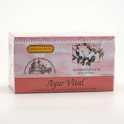 Siddhalepa Ayur Vital, čaj pro posílení vitality 20 ks, 40 g