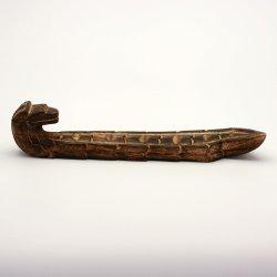 Stojánek dřevěný na indické tyčinky, drak 1 ks