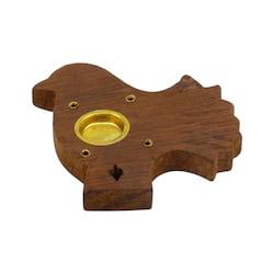 Stojánek dřevěný na vonné tyčinky, různé tvary 1 ks