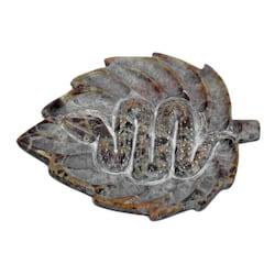 Stojánek kamenný na tyčinky a jehlánky, had 1 ks