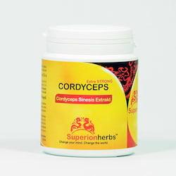 Superionherbs Cordyceps Housenice čínská, kapsle 90 ks