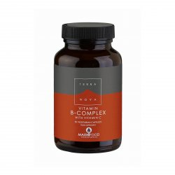 Terranova Health B-Komplex a Vitamin C 50 ks, (kapslí)