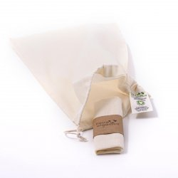 Casa Organica Sáček plátěný bio bavlny 1 ks, (46x30 cm), velký