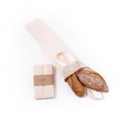 Casa Organica Taška na bagety z bio bavlny 1 ks, (52x9x8 cm)