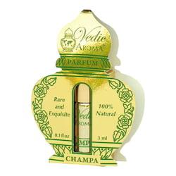 Vedic Aroma Ayurvédský parfém na bázi oleje Champa 3 ml, roll on