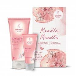 Weleda Mandlová péče pro citlivou pokožku, set 1 ks, (200 ml + 50 ml)