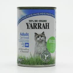 Yarrah Paté pro kočky rybí, Wellness 400 g