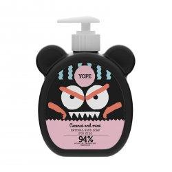 Yope Tekuté mýdlo na ruce pro děti s kokosem a mátou 400 ml