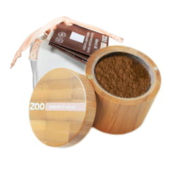ZAO Hedvábný minerální make-up 506 Brown Beige 15 g bambusový obal