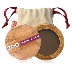 ZAO Matné oční stíny 203 Dark Brown 3 g bambusový obal