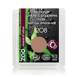 ZAO Matné oční stíny 208 Nude 3 g náplň