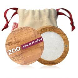 ZAO Třpytivé oční stíny 101 Pearly White 3 g bambusový obal