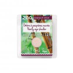 ZAO Třpytivé oční stíny 121 Pearly Ivory 3 g náplň