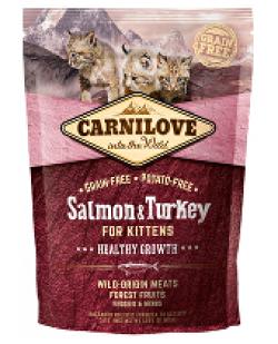 Carnilove Cat Salmon & Turkey for Kittens HG 400g