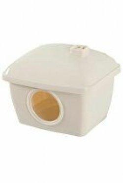 Domek pro křečky plast béžový Zolux