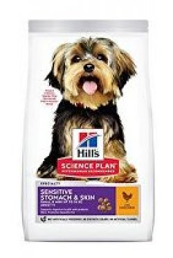 Hill's Can.Dry SP Sensitive Adult Small Chicken 6kg