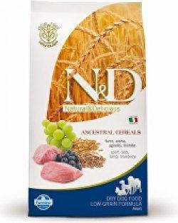 N&D LG DOG Puppy M/L Lamb & Blueberry 12kg