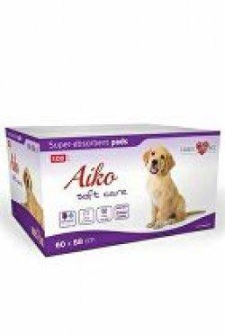 Plenky pro psy Aiko Soft Care 60x58cm 100ks