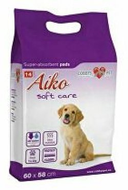 Plenky pro psy Aiko Soft Care 60x58cm 14ks