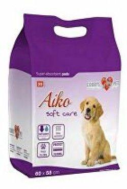 Plenky pro psy Aiko Soft Care 60x58cm 30ks