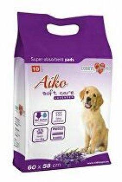 Plenky pro psy Aiko Soft Care s levandulí 60x60cm 10ks