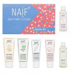 NAIF Kosmetika pro děti a miminka startovací set 6 ks