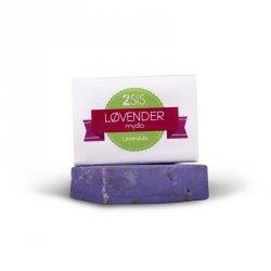 Two cosmetics Tuhé mýdlo Lovender (100 g) - plné levandule z vlastní zahrady