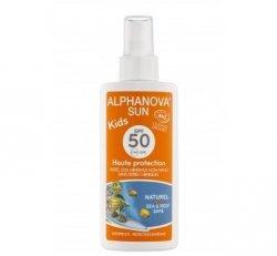 Alphanova Sun Opalovací krém ve spreji pro děti SPF 50 BIO (125 g)