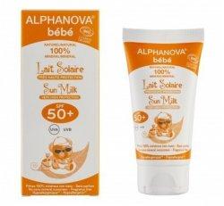 Alphanova Sun Opalovací mléko pro miminka SPF 50+ BIO (50 ml) - AKCE