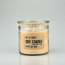 Aromka Svíčka ze sojov. vosku - recyklovaný válec (150 g) - květiny
