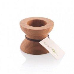 Bambu Svícen - chytrý oboustranný design pro čajovky i vysoké svíčky