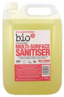 Bio-D Čistič na různé druhy povrchů s dezinfekcí (5 l)