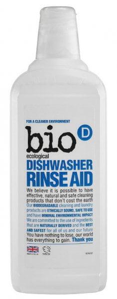 Bio-D Leštidlo (oplach) do myčky (750 ml) - hypoalergenní a vysoce účinné