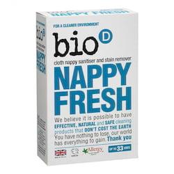 Bio-D Odstraňovač skvrn a dezinfekce plenek (500 g) - přísada k pracímu prášku