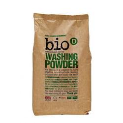 Bio-D Prášek na praní (2 kg) - vhodný i pro citlivou pokožku