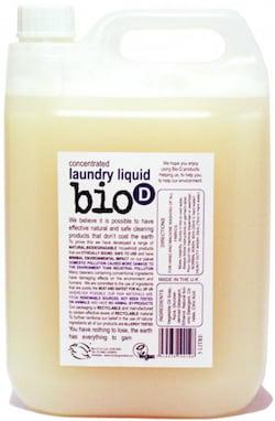 Bio-D Tekutý prací gel bez vůně (5 l) - vhodný i pro velmi jemné materiály