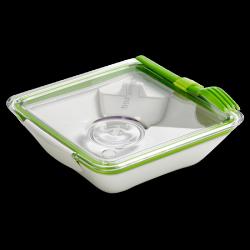 Black+Blum Lunchbox Appetit - bílo-zelený - AKCE - krásný i dokonale praktický