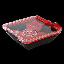 Black+Blum Lunchbox Appetit - černo-červený - AKCE - krásný i dokonale praktický