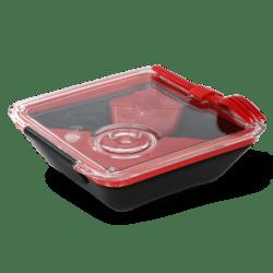 Black+Blum Lunchbox Appetit - černo-červený - krásný i dokonale praktický
