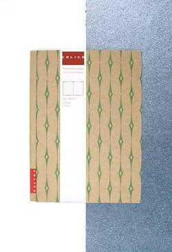 Calico Zápisník - Blad - s potahem a předsádkou z recyklu